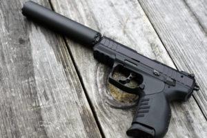 Firearm silencers